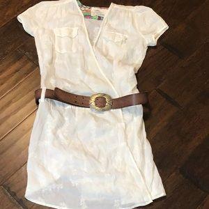JW 4 Love & Liberty White Tunic